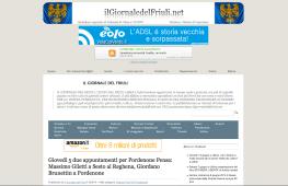 05/06/14 | Giovedì 5 due appuntamenti per Pordenone Pensa: Massimo Giletti a Sesto al Reghena, Giordano Brunettin a Pordenone